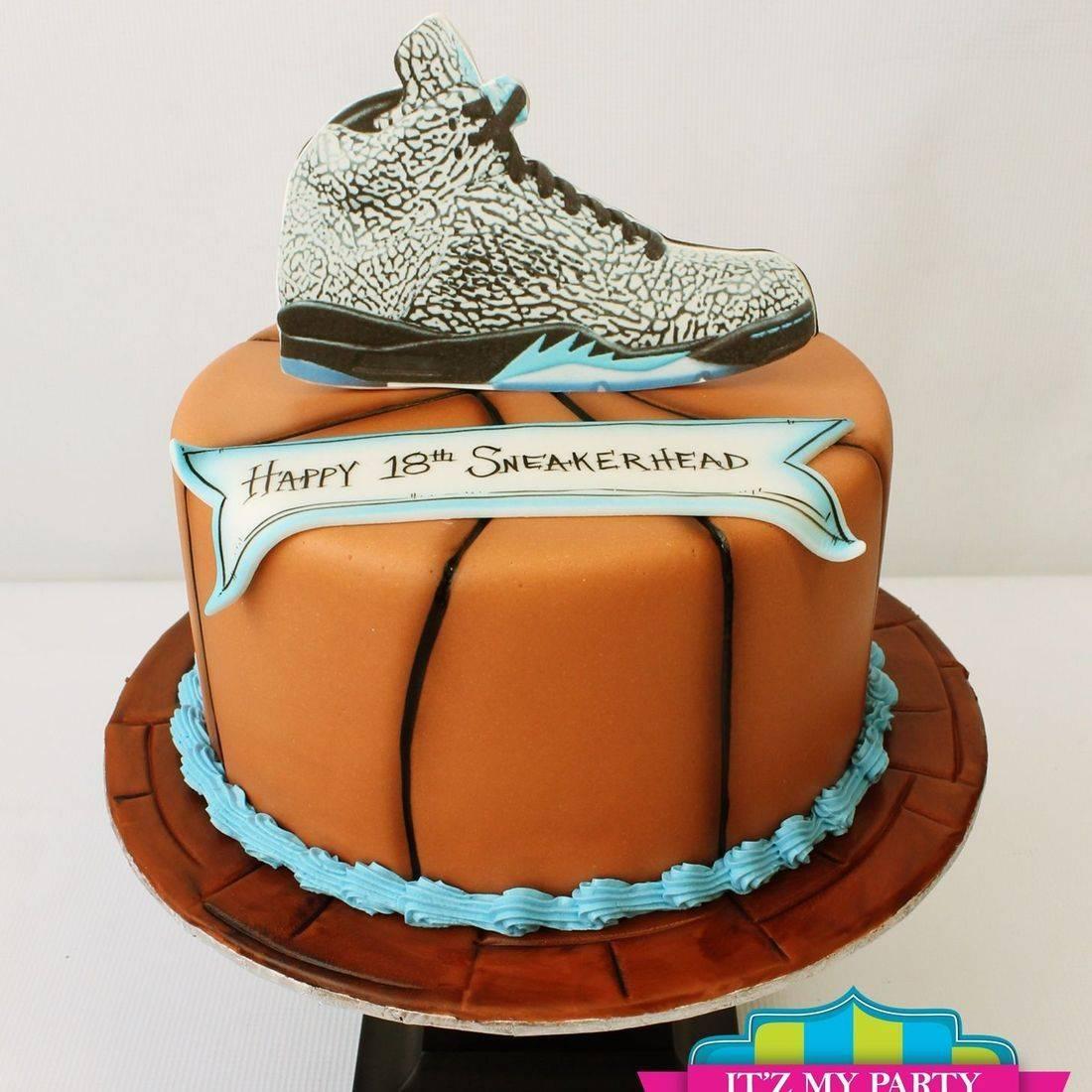 Custom Basketball  Shoe Cake Milwaukee