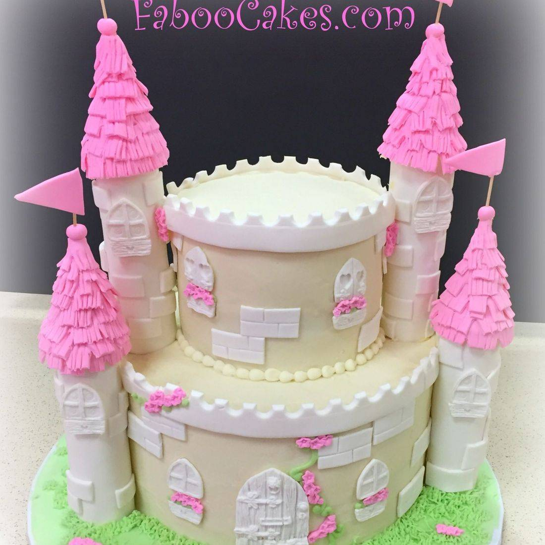 princess castle birthday cake castle pink birthday cake