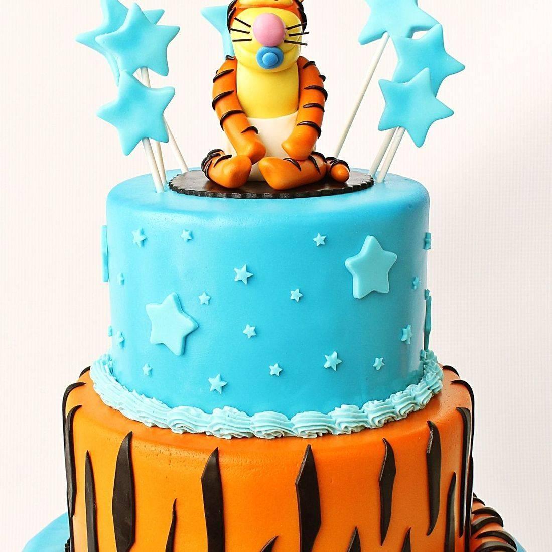 Custom Tigger Pooh Baby Shower Cake  Milwaukee