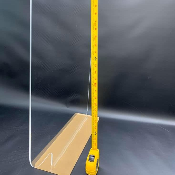 Standalone Plexiglass Shield