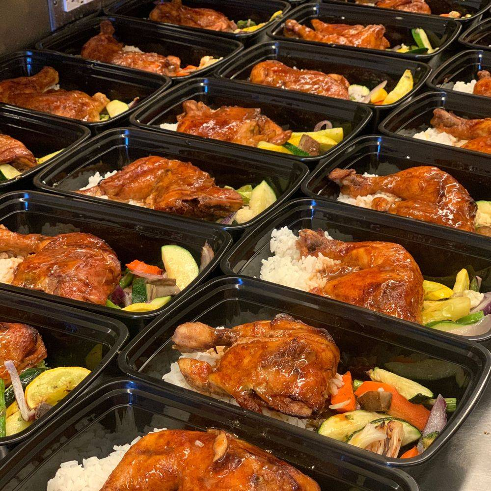BBQ Chicken Lunch individual box lunch