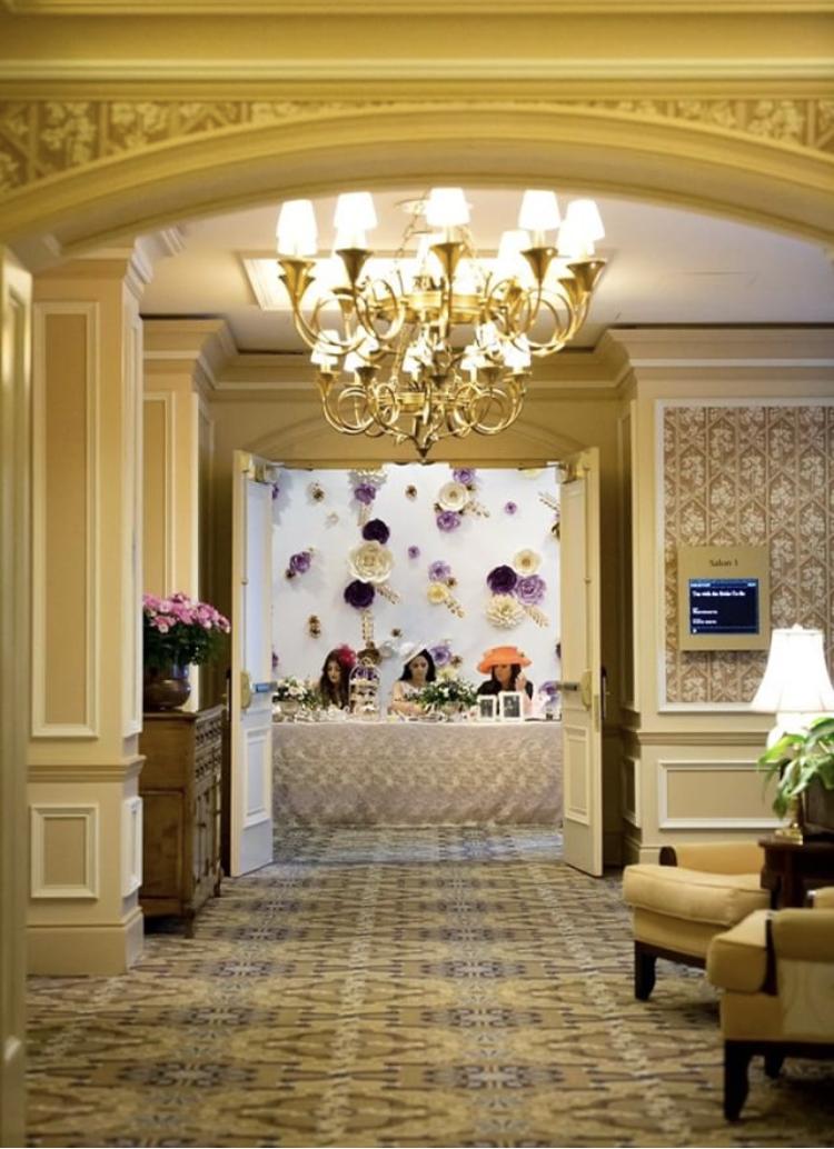Fairmont Royal York Hotel Toronto Bridal Shower