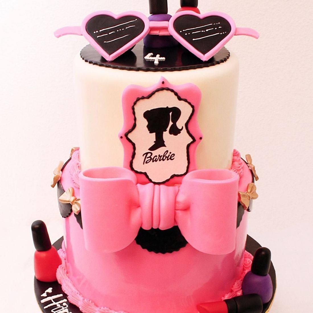 Barbie Makeup Custom cake milwaukee