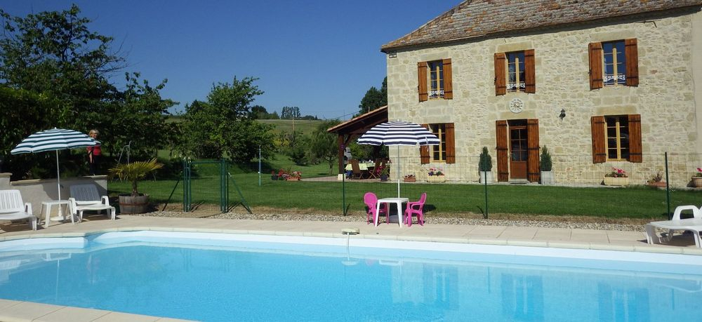 gabillou gite france with pool pet friendly