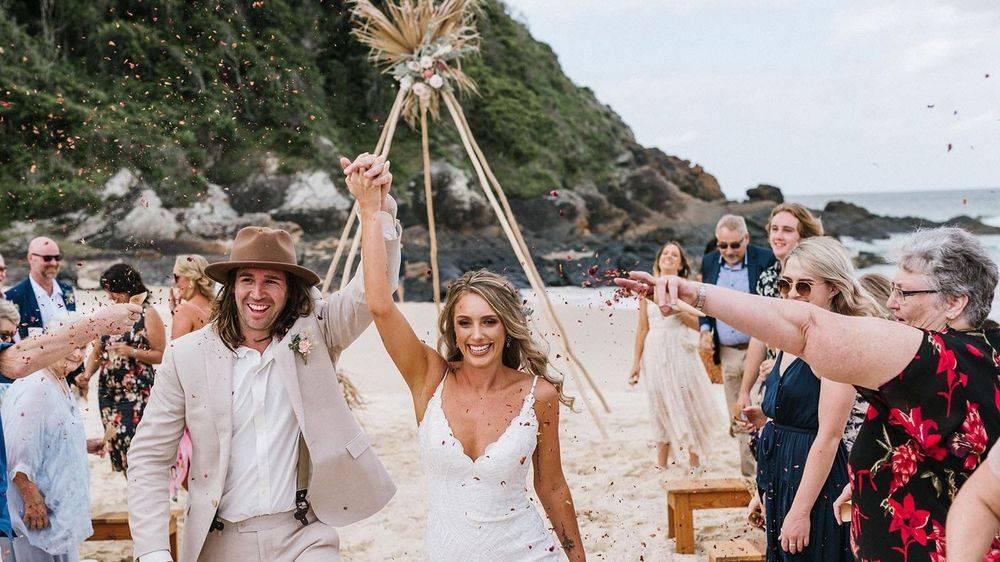 Same sex mexican wedding newcastle celebrant fun ceremonies hunter valley stanley park