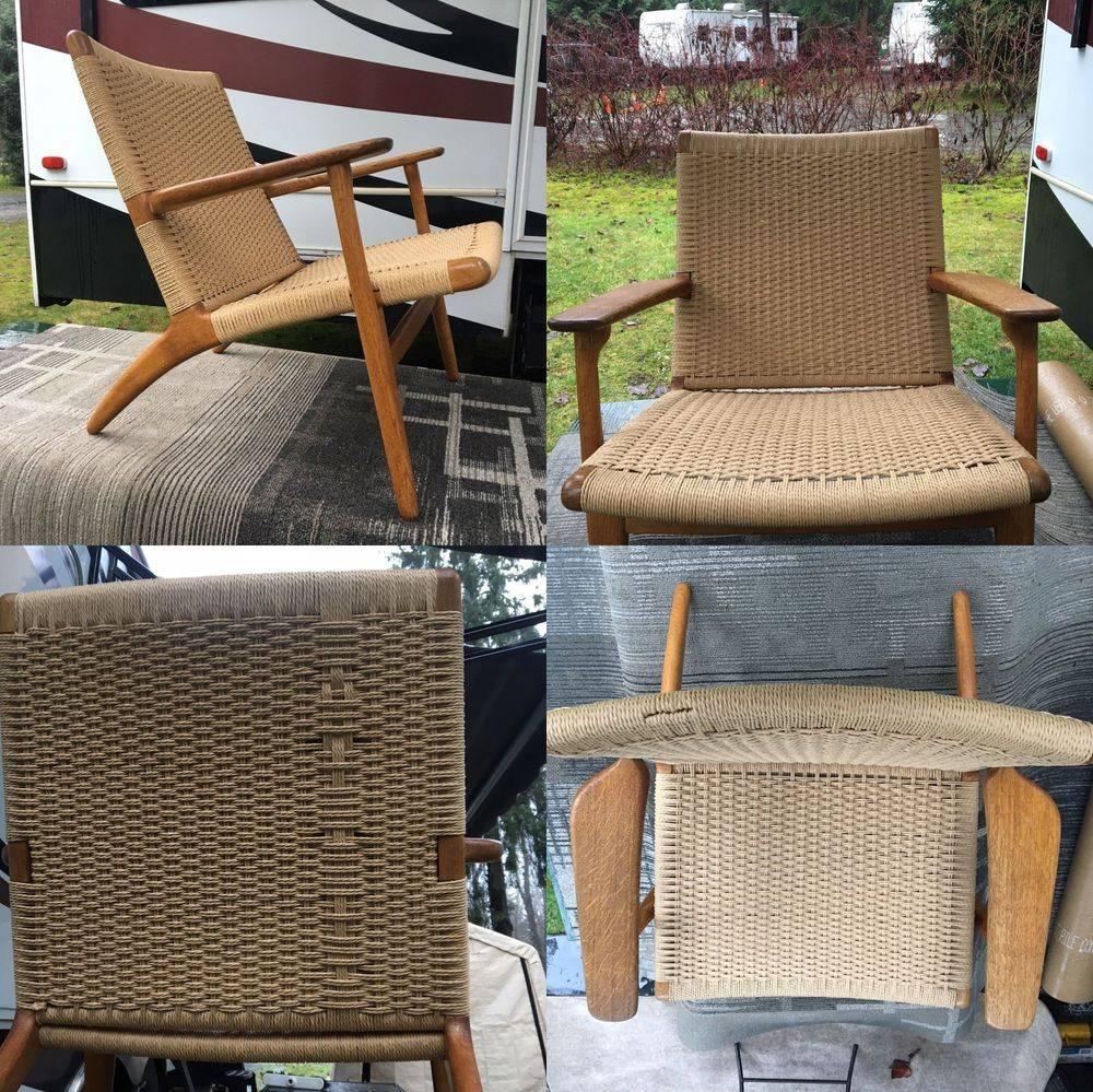 Hans Wegner CH25 Lounge Chair or Easy Chair