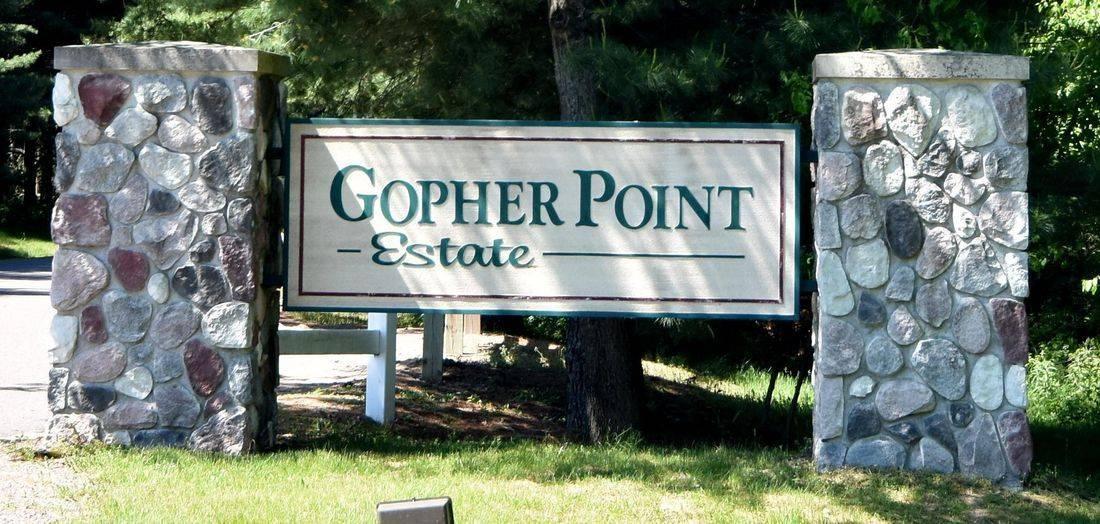 Gopher Point on the Chetek Chain near Chetek, WI