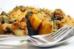 This is Arista's Aloo Gobi