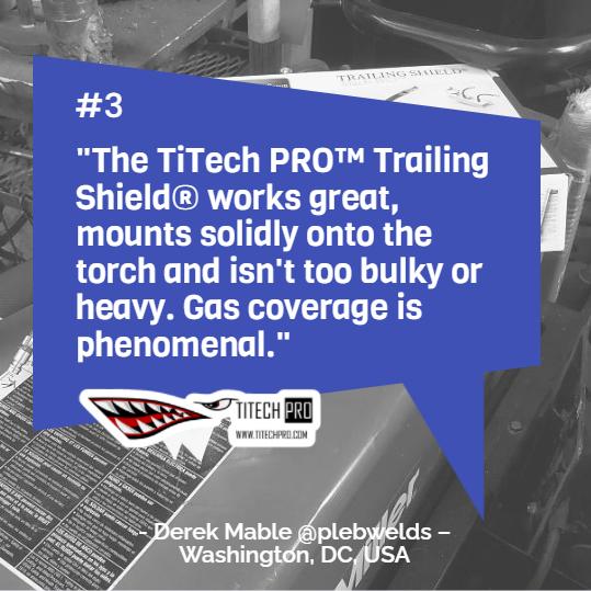 titech production as, trailing shield 2.0, hft, titanium, gas, jan wessel
