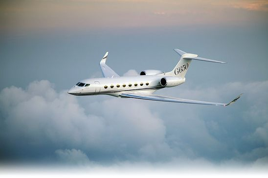 Private jet Gulfstream G650