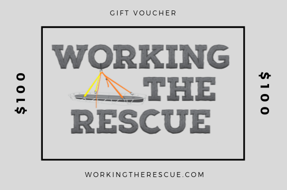 working the rescue gift voucher