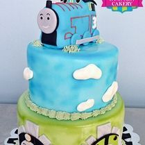 Custom Thomas The Train Cake Milwaukee