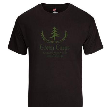 Green Corps Tee - Black