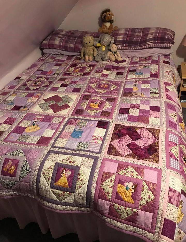 Disney Princess Double Quilt