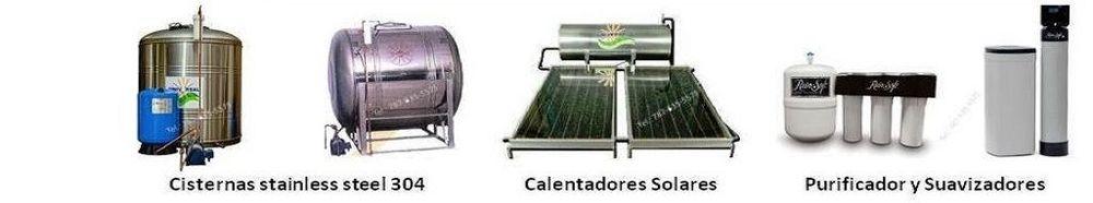 Oferta | Calentadores Solares | Cisternas