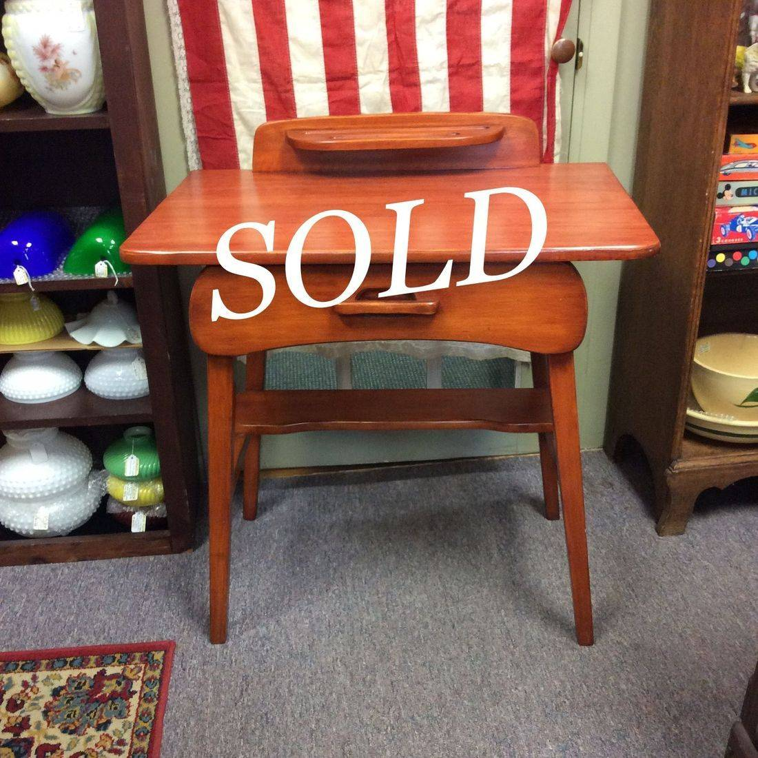1950's Cherry Finished, Writing Desk   $175.00