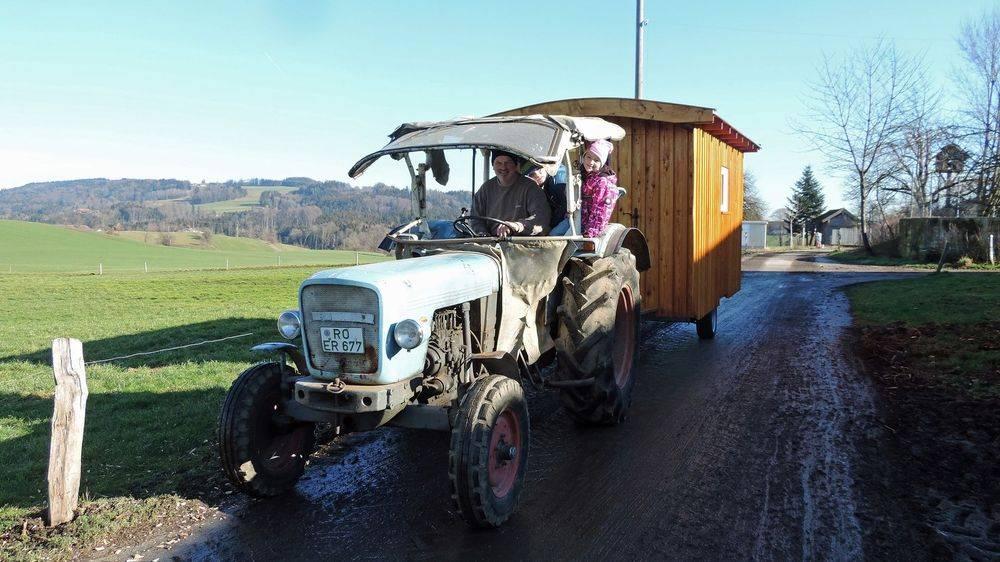 Den Tag bei uns im Schäferwagen auf dem Reifnhof genießen.