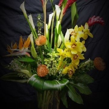 party, flowers, spring flowers,