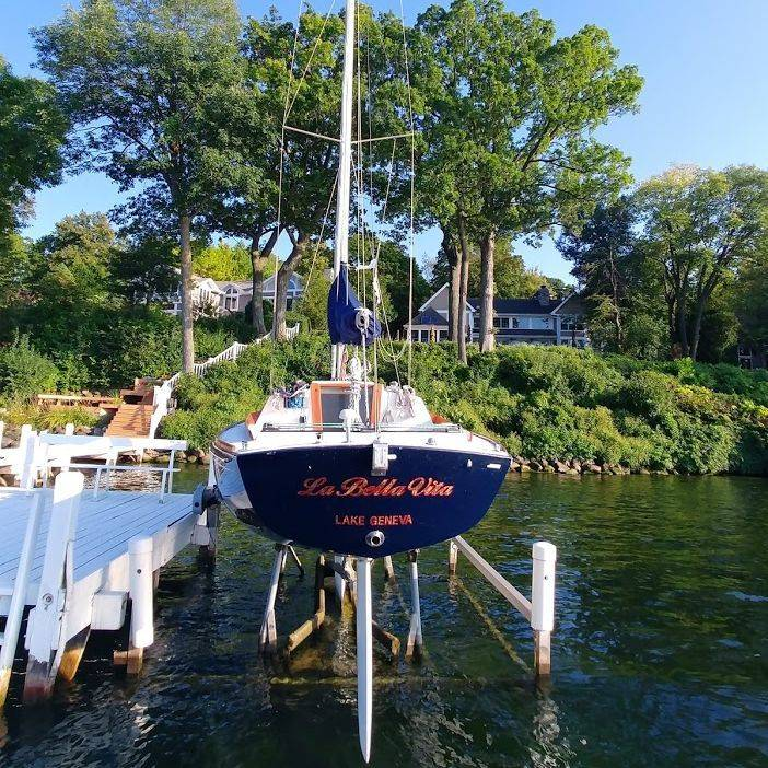Alerion sailboat for sale
