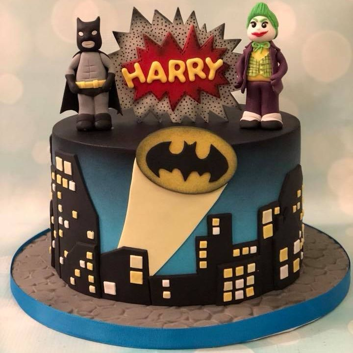 Batman Birthday Cake Robyn Robin Signal Bat City