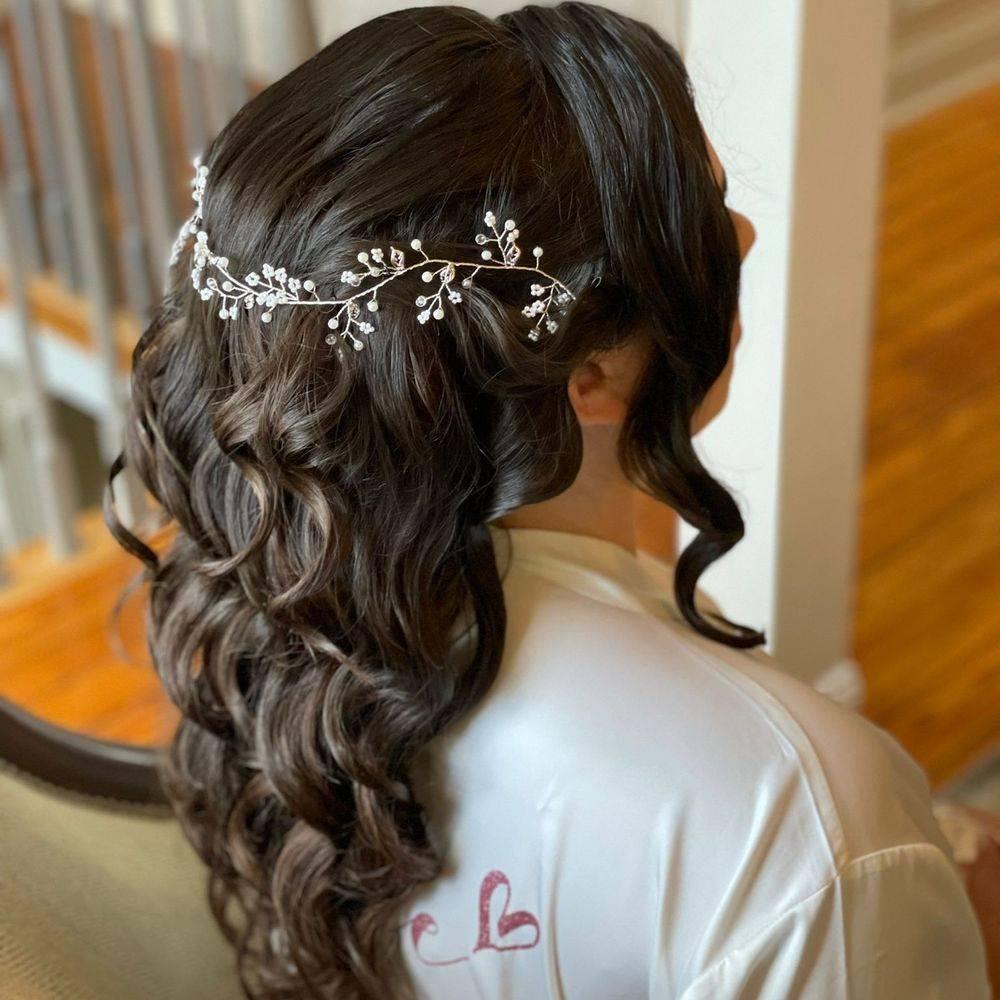 Trendy Bridal Hair