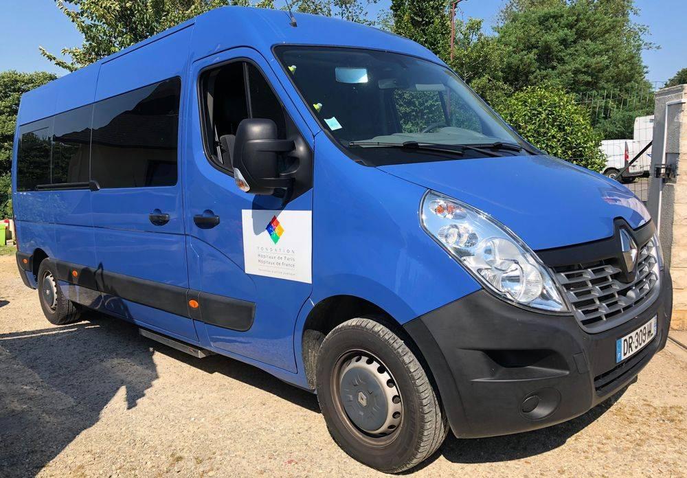 Vitre Teintée Renault Master, Quimper, Finistère, Bretagne