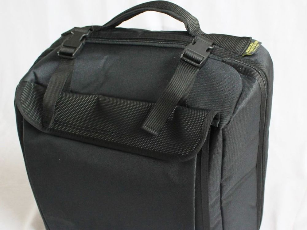 Standard large melodeon bag - black