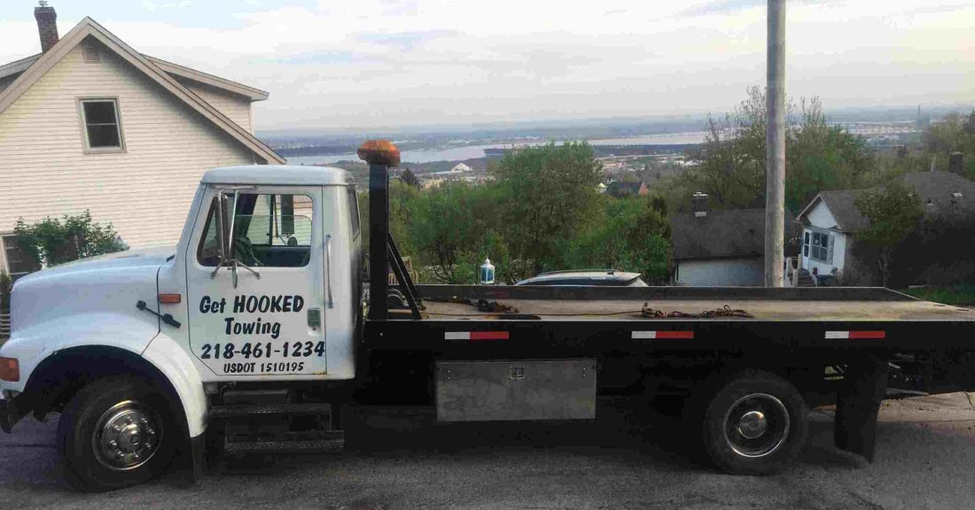 Get Hooked Towing LLC Truck