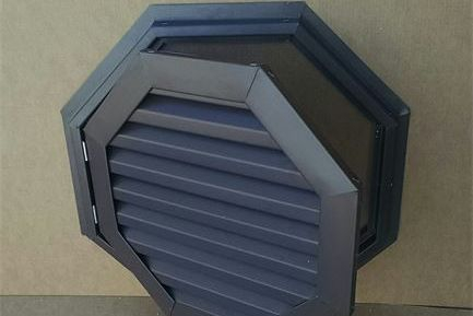 octagon hinged gable vent