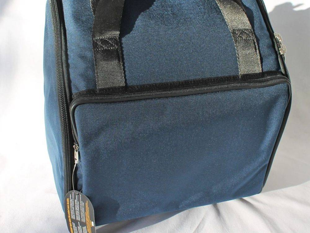 Professional small melodeon bag - blue