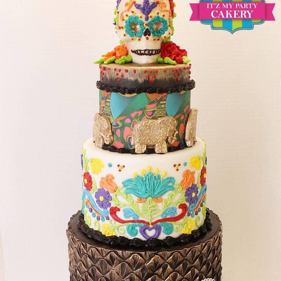 African Fiesta Cake