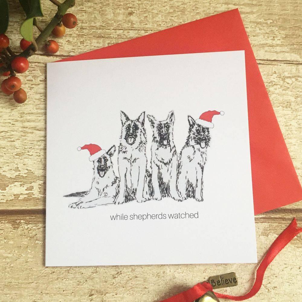 bah hum-pug Christmas Xmas card pug dog funny