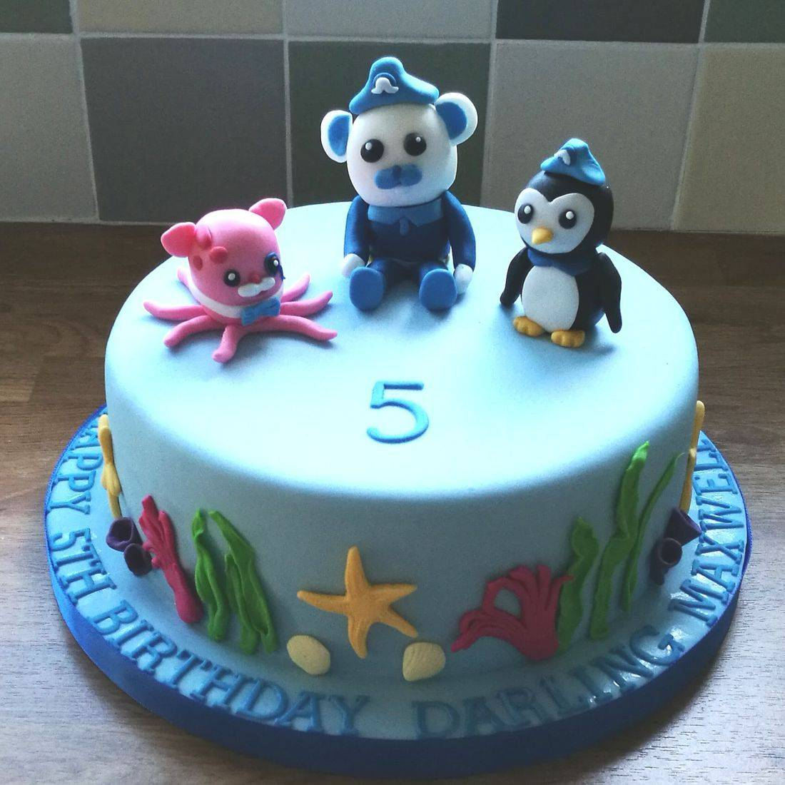 Octonauts Children's Cake