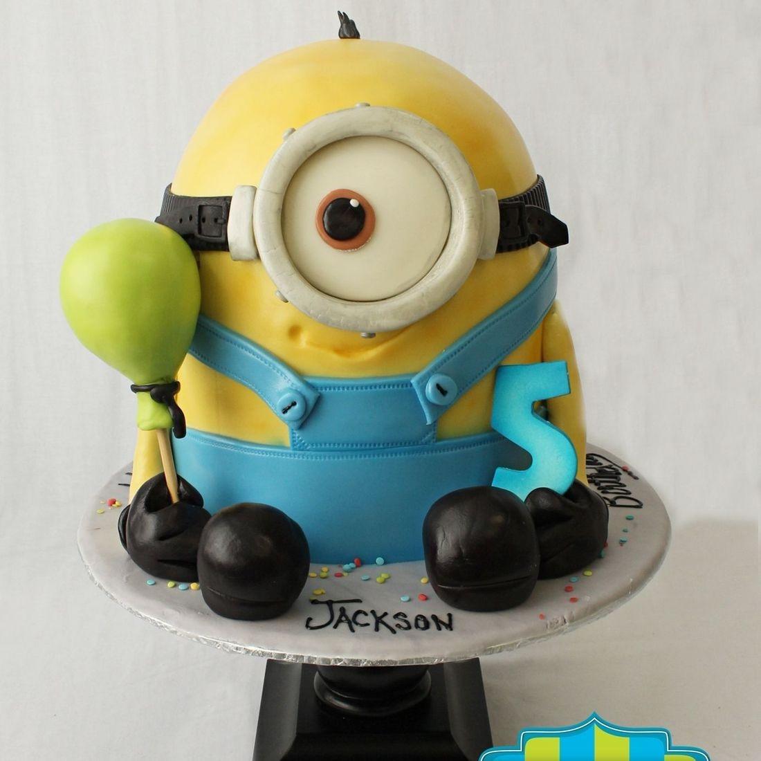 Minion Balloon Cake Dimensional Cake Milwaukee