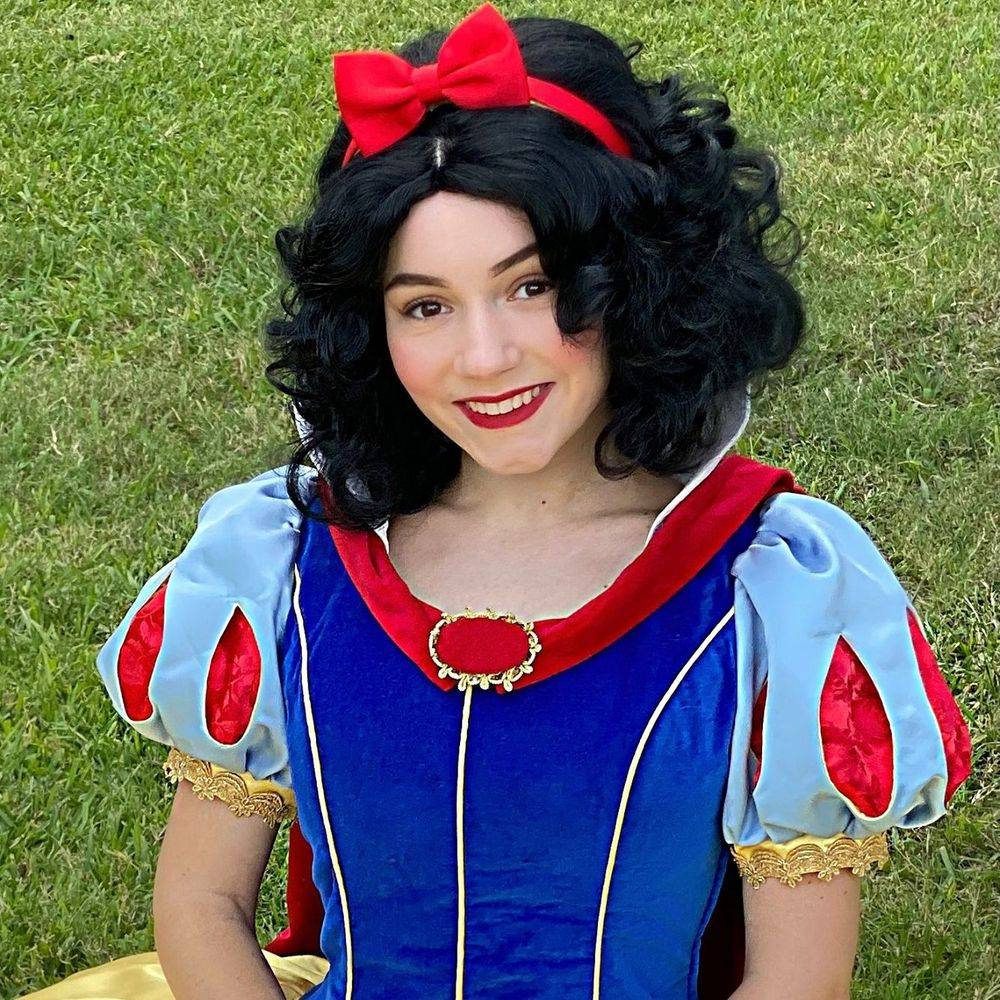 Snow White princess party character Fairytale Friends of San Antonio