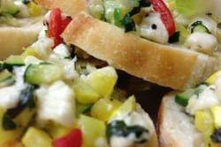 Mediterranean Bruschetta Arista Caterers