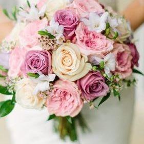 bride, wedding, roses, celebration, flowers