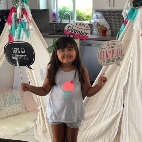 Kids party rentals, teepee rentals, party rentals, Happy Campers, Happy Glampers, birthday, teepees, kids, indoor, campsites, campsite, s'more, adventure, Newport Beach, CA, Orange County