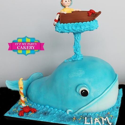 Whale  Dimensional Cake Milwaukee