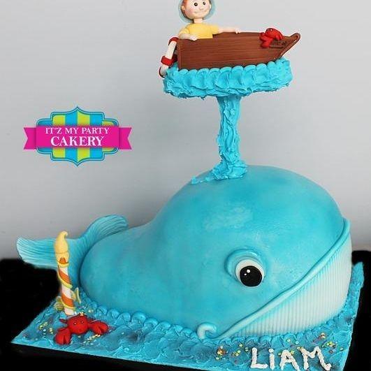 Whale  Dimensional Cake Milwaukee