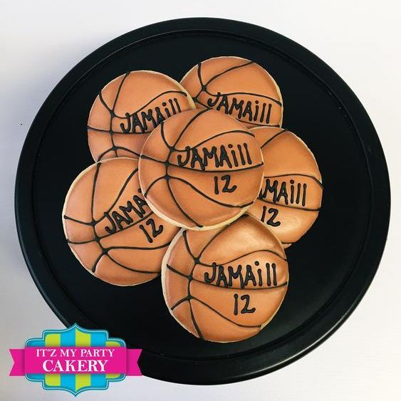 Basketball Cookies Milwuakee