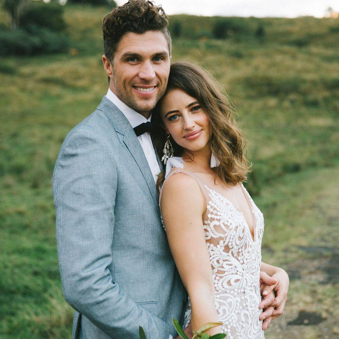 Alice and Joel's stunning Byron Bay wedding