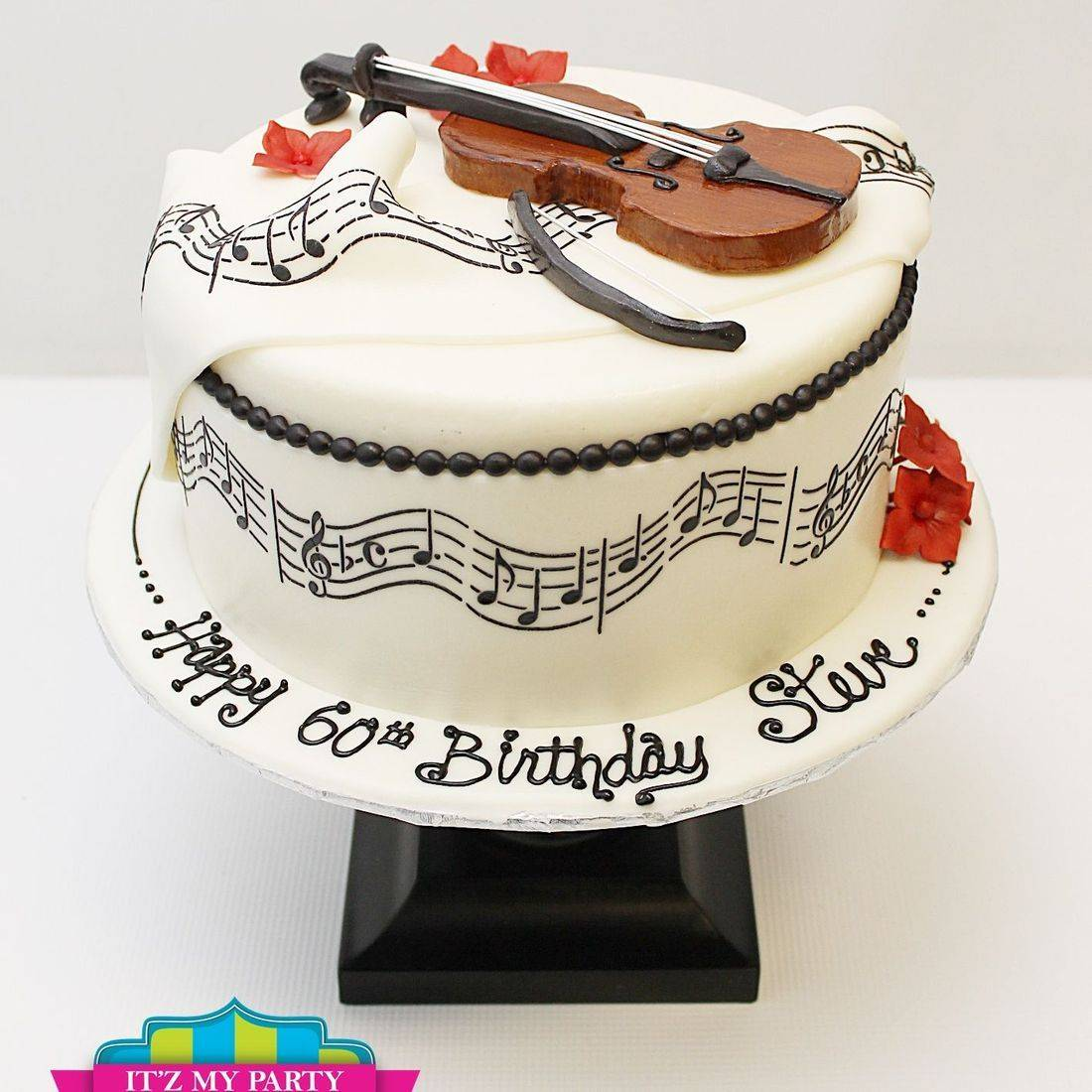 Custom Music Violin Cake Milwaukee