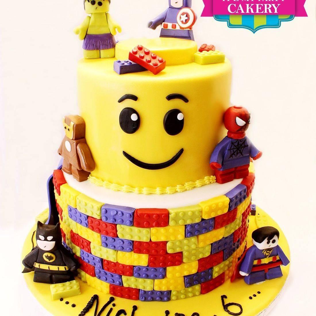 Super Hero Lego Cake Milwaukee