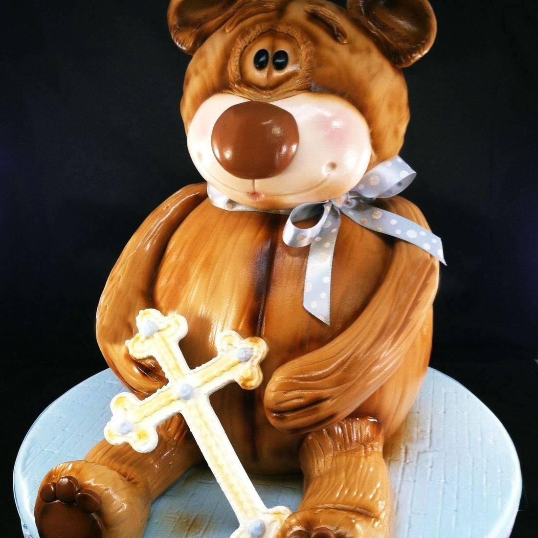 Teddy Bear Cake Carved Dimensional Cake Milwaukee