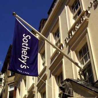 Sothebys Bond Street flag
