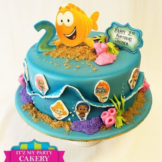 Custom Bubble Guppies  Cake Milwaukee