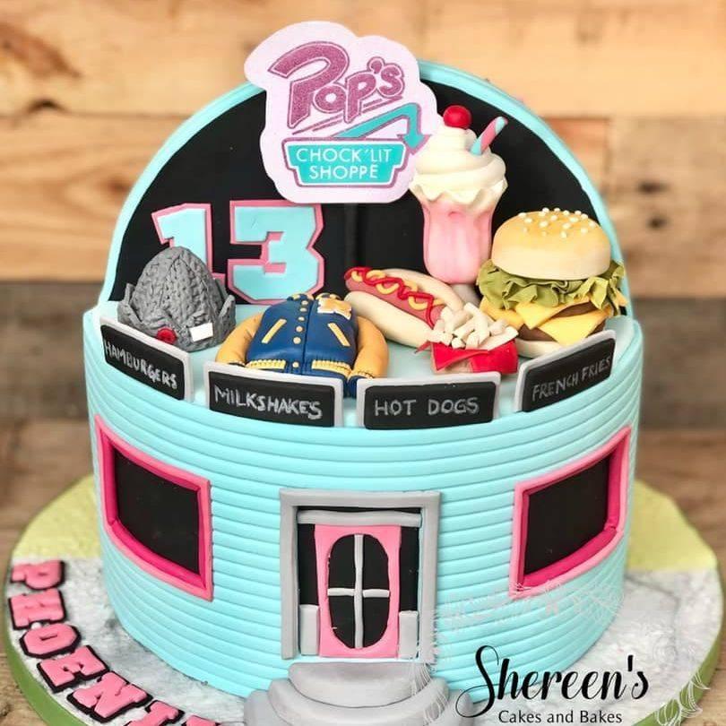 birthday cake riverdale pops burger milkshake archie jughead