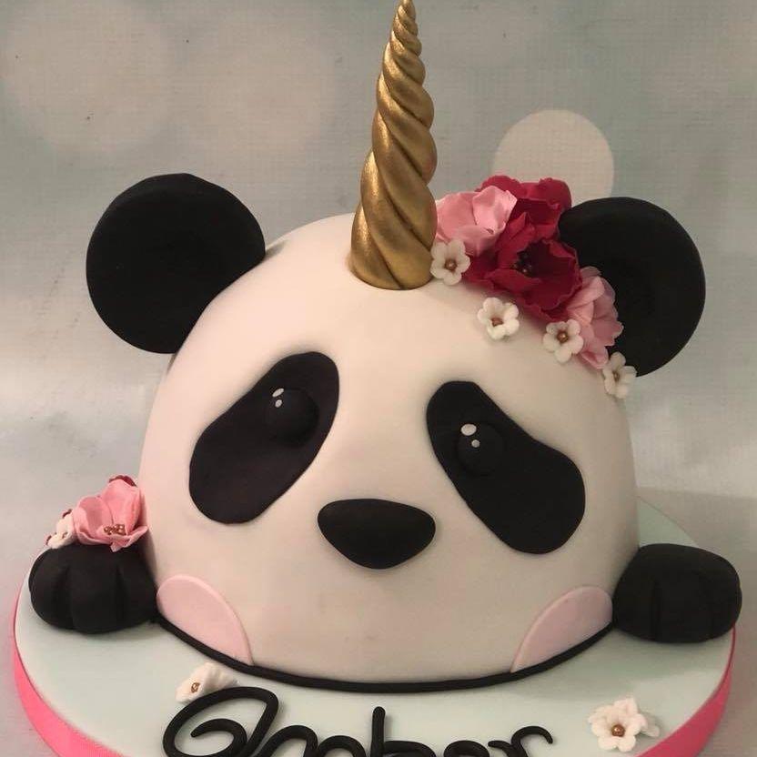 Panda Unicorn Cake Pandacorn Pandicorn Unipanda