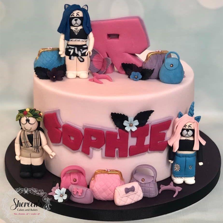 Roblox Birthday Cake